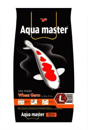 Aqua Master Wheat Germ Koi Food Small Pellet 22 lbs